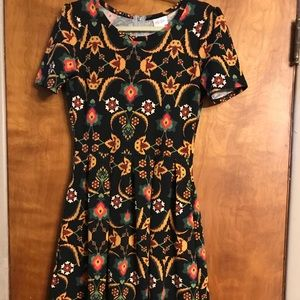 Lularoe Amelia Dress Size M
